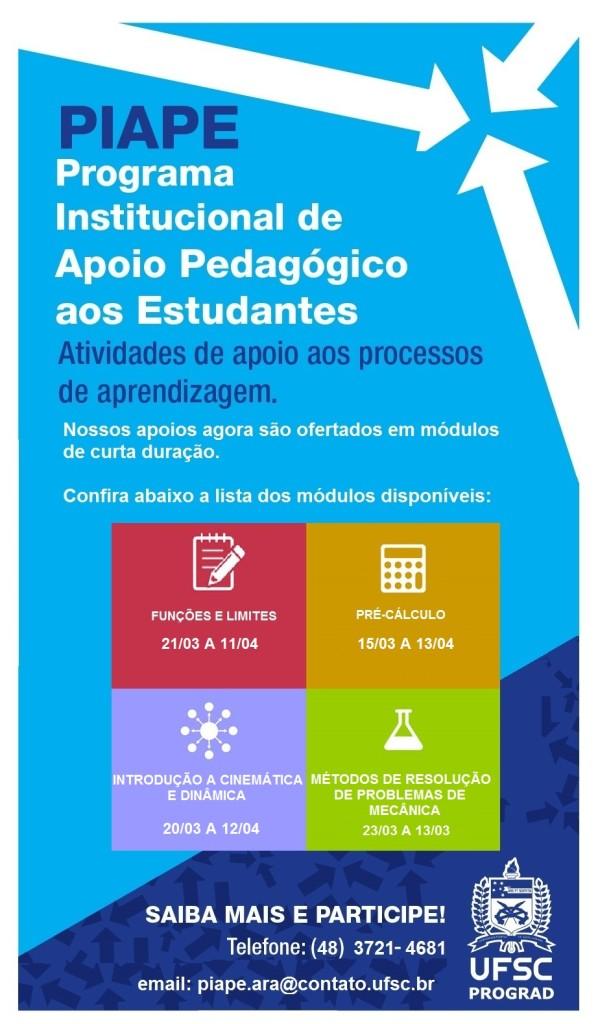 Apoio Pedagógico Cartaz - 1 modulos